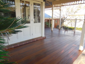 6 New timber veranda decking - Timber deck page