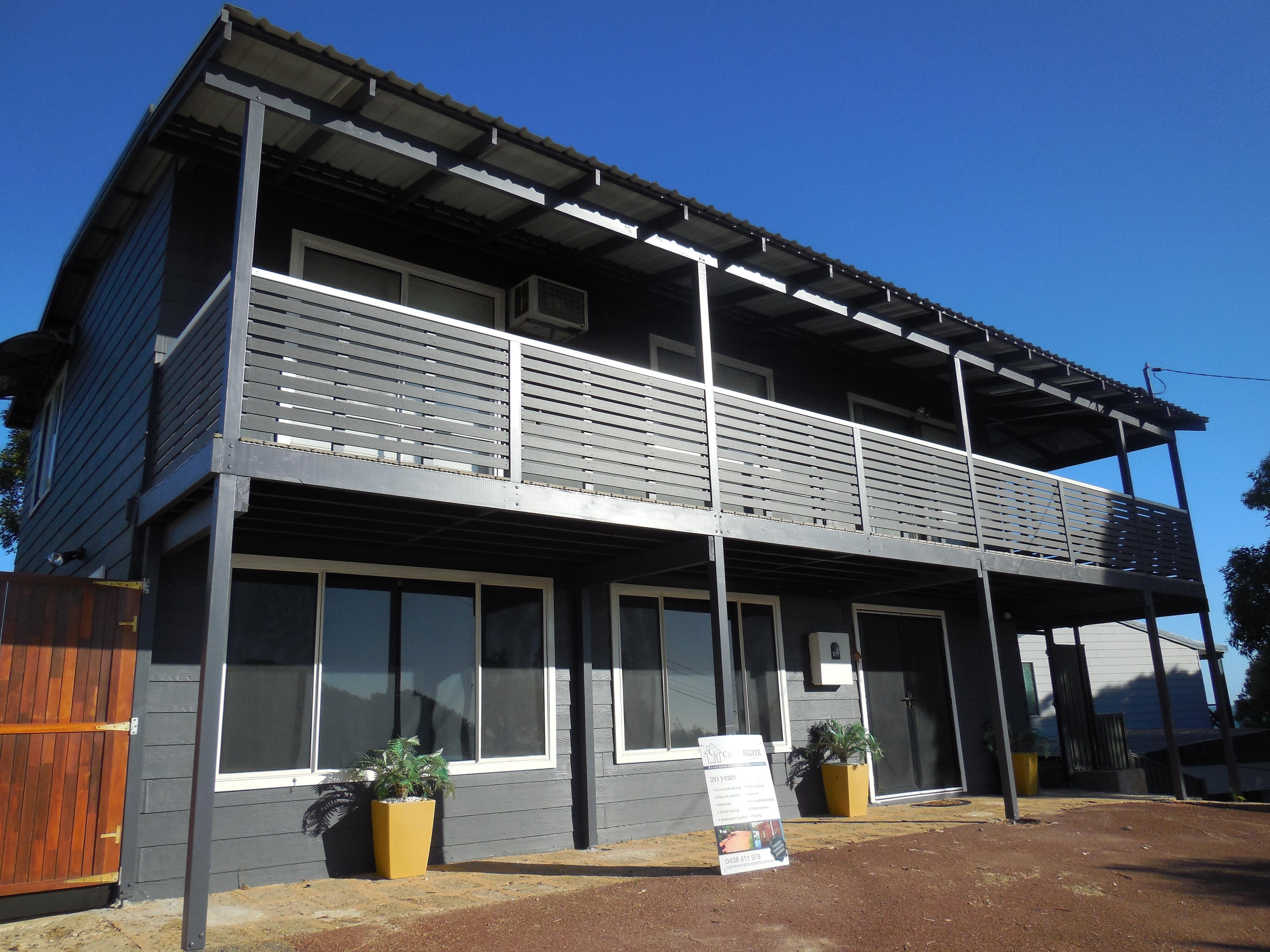 Balcony building & refurbishment Perth