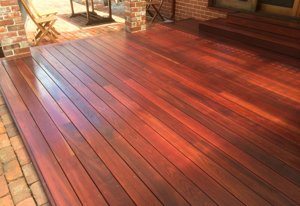 Building Jarrah Decking