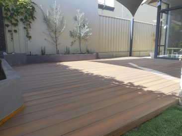 After new composite deck in Maylands
