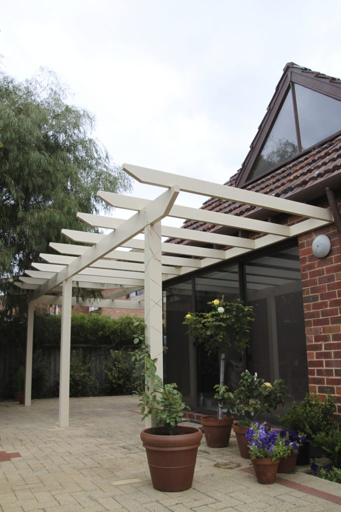Timber pergolas perth