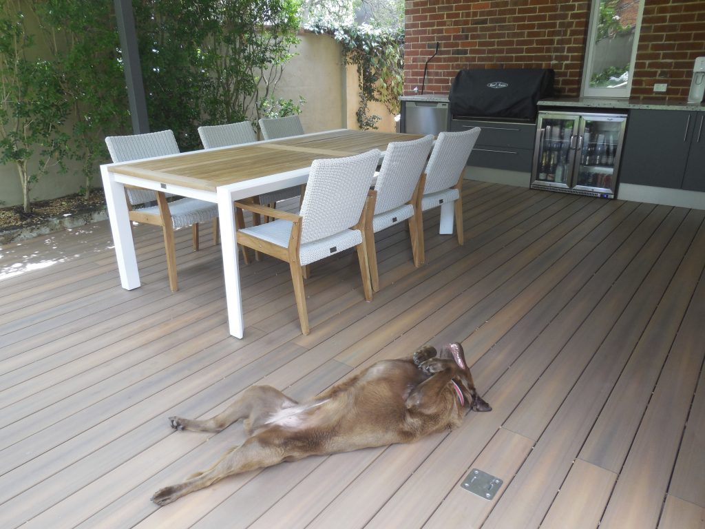 Alfresco decking Perth