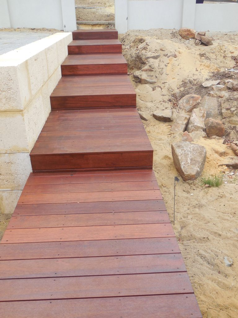 Timber stairs Perth