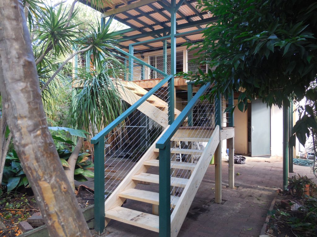Timber Stairs Decking Perth