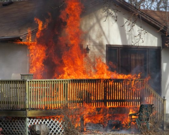 Decking And The Risk Of Fire Castlegate Home Improvements