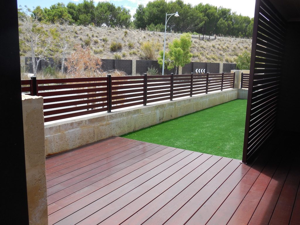 Beautiful hardwood decking is a feature in any setting
