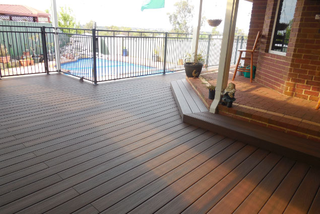 Beautiful Covered Timber Decking - Deck Builders Perth