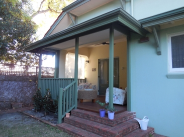 AFTER - Timber Alfresco with a ceiling & tiled roof Perth